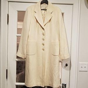 Wool womens dress coat